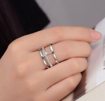 Серебро, Бижутерия/  В наличии — Кольца из стерлинг. серебра — Ювелирные кольца