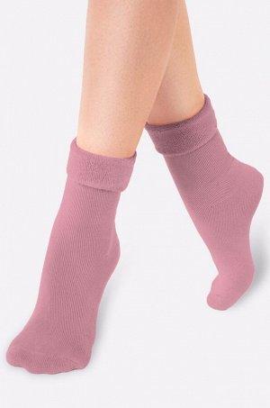 Теплые махровые носки - уютная моделька, согреют ножки