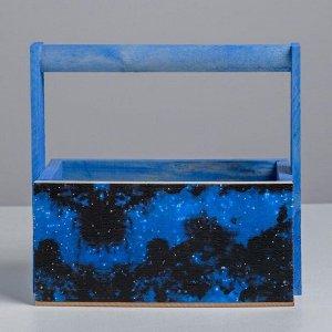 Наборы деревянных  ящиков с ручкой 3 в 1, ночное небо, 31 х 21 х 26 см