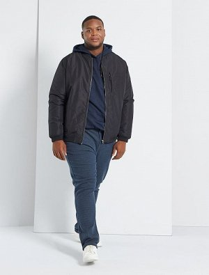 Стеганая куртка-бомбер