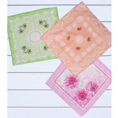 Cotton и Silk - фабрика домашнего текстиля для всей семьи — Женское, Носовые и головные платки — Платки, шарфы и шали