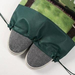 """Мешок для обуви н/полотно мал """"Самый крутой"""", 41*30*0,5см"""