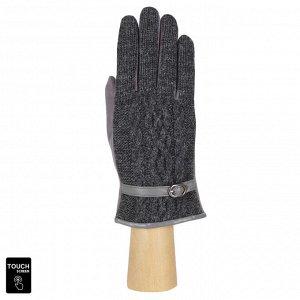Перчатки женские, искусственная замша, FABRETTI TM5-9