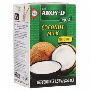 Кокосовое молоко AROY-D  250мл, Tetra Pak  1*36