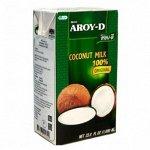 Кокосовое молоко AROY-D , 500мл, Tetra Pak 1*24
