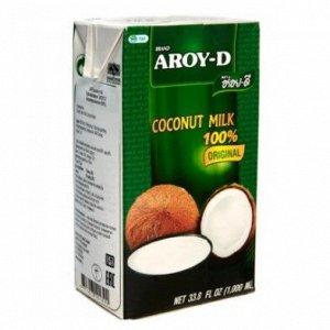 Кокосовое молоко AROY-D , 1л. Tetra Pak 1*12