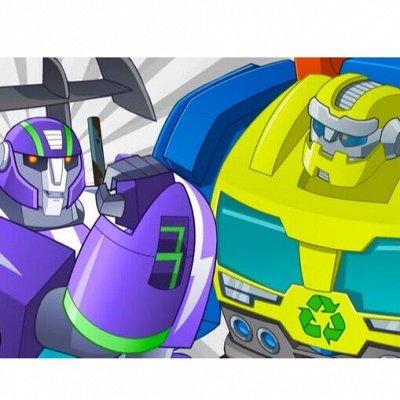 Самые популярные мультяшные игрушки_Быстрая! — Роботы боты спасатели — Роботы, воины и пираты