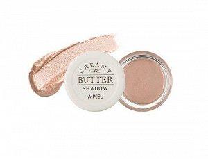 Кремовые тени для век A'Pieu Creamy Butter Shadow # Maple Beige