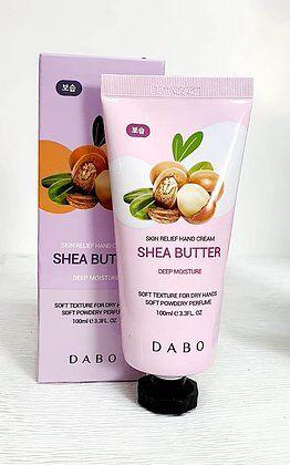 Крем для рук с экстрактом масла Ши DABO