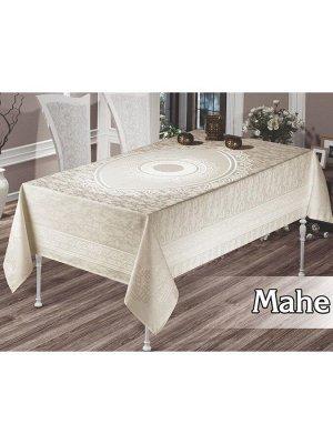 Скатерть  MAHE 160*300 кремовый