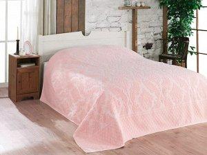 Покрывало 200*220 хлопок (подарочная коробка) JUNIPER розовый