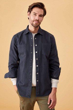 рубашка Размеры модели: рост: 1,78 грудь: 85 талия: 75 бедра: 85 Надет размер: M  Хлопок 100%