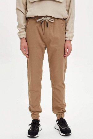 брюки Размеры модели: рост: 1,88 грудь: 98 талия: 75 бедра: 94 Надет размер: 30  Хлопок 65%,Elastan 3%, Полиэстер 32%