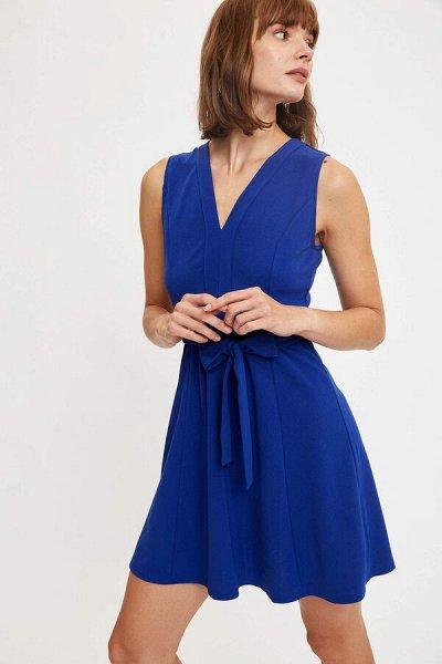 DEFACTO- осенняя подборка - платья, свитеры, кардиганы.  — Короткие платья — Короткие платья