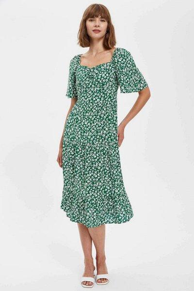 DEFACTO- осенняя подборка - платья, свитеры, кардиганы.  — Платья длинные — Длинные платья