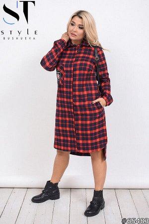 Платье-рубашка 65483