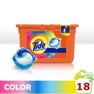 TIDE СМС жидк. в растворимых капсулах Color 18х24.8г\22.8г