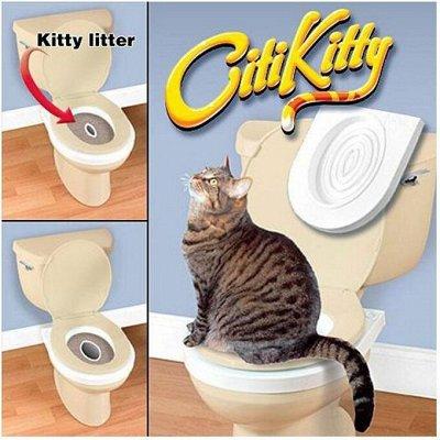 Деревенские лакомства - Ваш питомец будет признателен! — Набор для приучения кошек к унитазу — Туалеты и наполнители