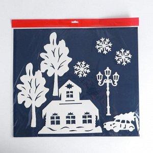 Набор декоративных наклеек «Новогодняя атмосфера»