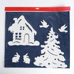 Набор декоративных наклеек «Новогодние забавы»