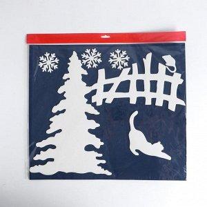 Набор декоративных наклеек «Новогодние приключения»