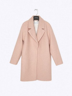 Пальто из структурной ткани R066/caren