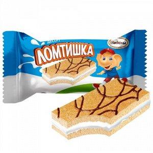 Десерт Ломтишка молоко
