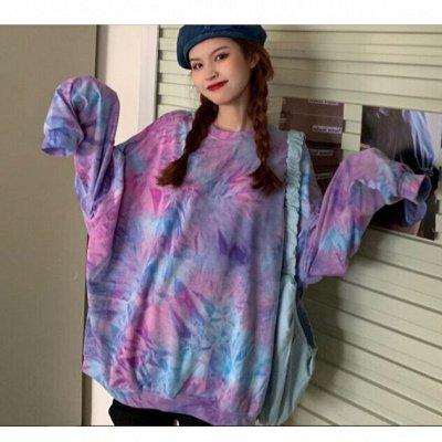 Street style модная мега-удобная одежда! Низкая цена! — Классные яркие свитшоты over size — Свитшоты