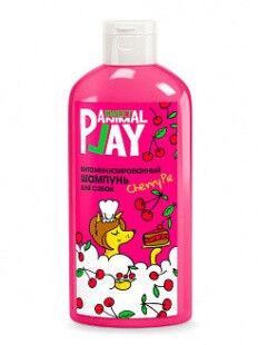 Animal Play шампунь для собак Витаминизированный Вишневый пай 300мл