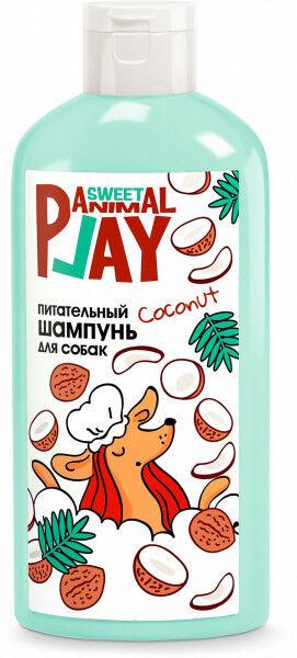 Animal Play шампунь для собак Питательный Ямайский кокос 300мл