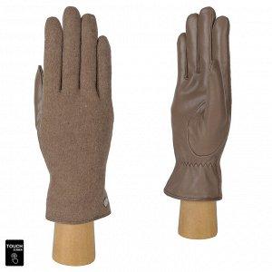 Перчатки, комбинированная кожа, FABRETTI FS3-10