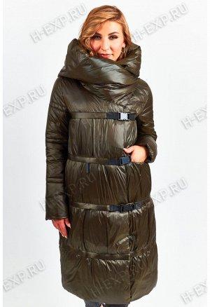 Куртка-трансформер удлиненная женская Tongcoi 7007 (475) Хаки