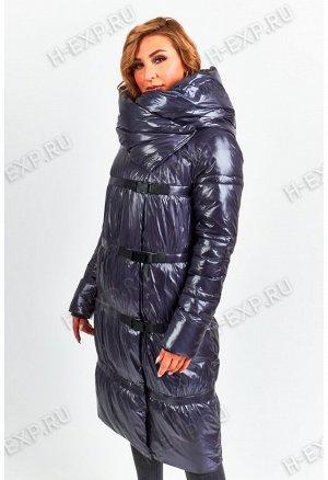 Куртка-трансформер удлиненная женская Tongcoi 7007 (790) Темно-синий