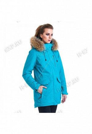 Парка женская голубая XYCG8465 1043