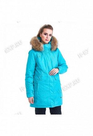 Парка женская светло-голубая XYCG8482 1003