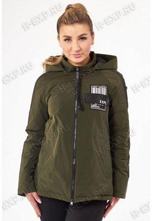 Куртка весна-осень женская Tongcoi 2101 (465+701) Оливковый