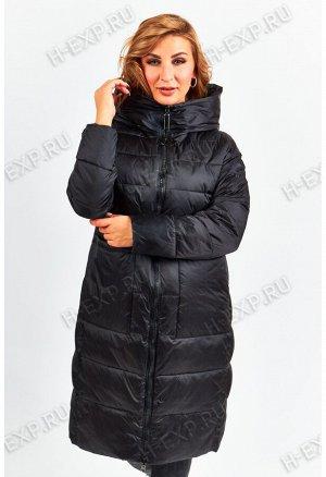 Куртка двухсторонняя удлиненная женская Tongcoi 7187 (701) Черный