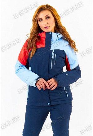 Куртка женская High Experience 1261 (1015) Темно-синий