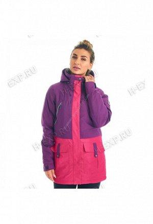 Куртка сноубордическая женская фиолетовая A8010 358