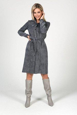 Платье Ирма №7. Цвет:серый