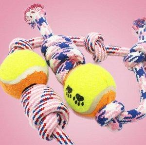 Игрушка, один мяч - два узла