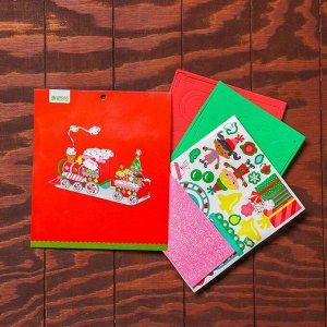 Набор для творчества - создай новогоднее украшение «Поезд Деда мороза»