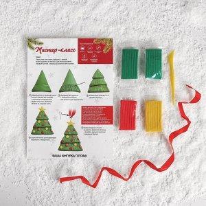 Новогодняя подвеска из полимерной глины «Ёлочка»