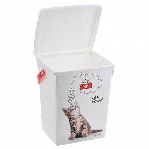 Контейнер для корма для кошек