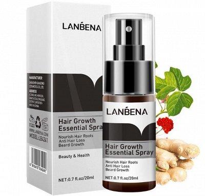 👍Шикарная LANBENA и BREYLEE. Работает 100% — Спрей против выпадения волос LANBENA hair growth essential — Спреи и тоники