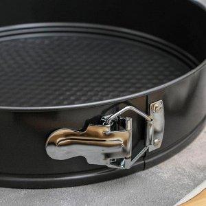 Форма для выпечки разъёмная Доляна «Элин. Круг», d=28 см, антипригарное покрытие