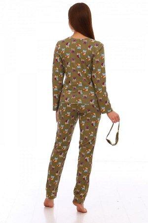 Пижама Ткань: Кулирка; Состав: 100% хлопок; Размеры: 42, 44, 46, 48, 50, 52