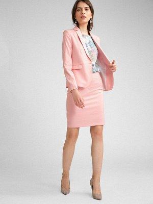 Юбка Состав ткани: Вискоза 60%, Полиэстер 37%, Спандекс 3% Длина: 50 См. Описание модели Розовая юбка прямого кроя выше колена из костюмной вискозы. Лаконичный крой, в котором выполнена модель, уравно