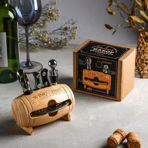 """Набор для вина """"Wine time"""", 9 х 15 см"""