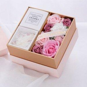 Подарочный набор букет из мыла+ароматизатор